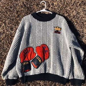 Vintage Boxing Sweater 1989'